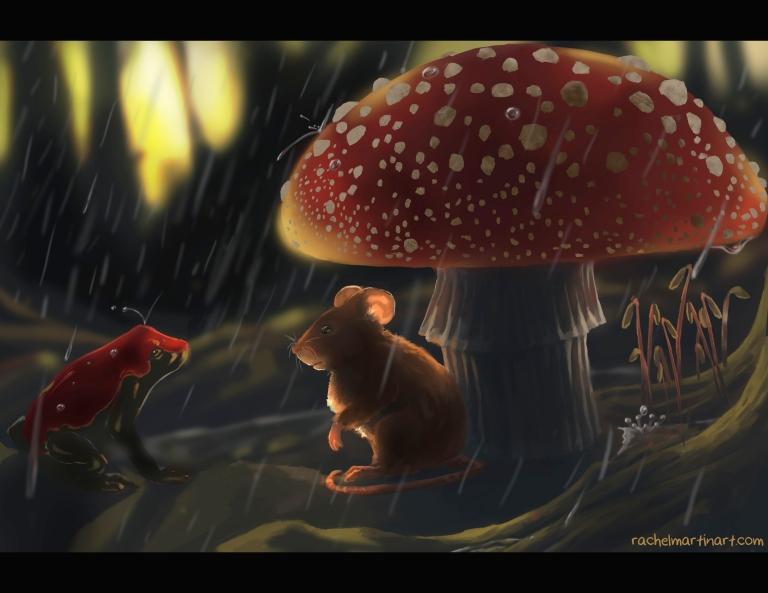 Mouse Mushroom